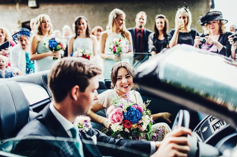 super happy bride by steve gerrard