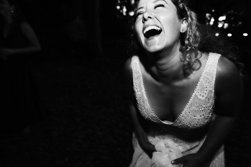 laughing bride by Chris Barber