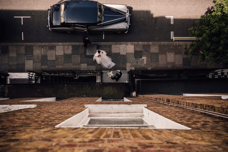 alternative perspective documentary wedding photography image by Sam Docker