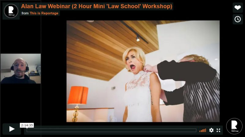 wedding photography courses videos - alan law
