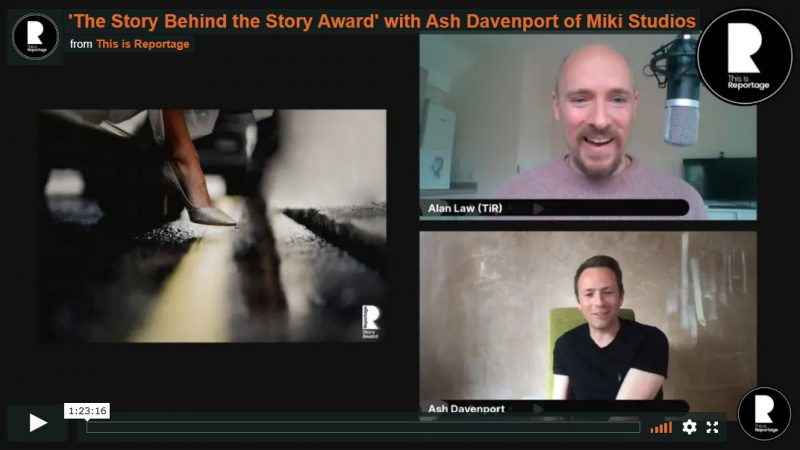 ash davenport story video