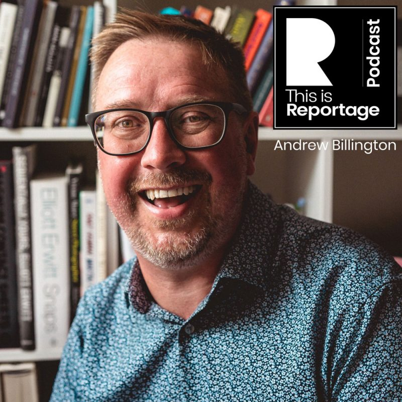 this is reportage podcast - this is andrew billington