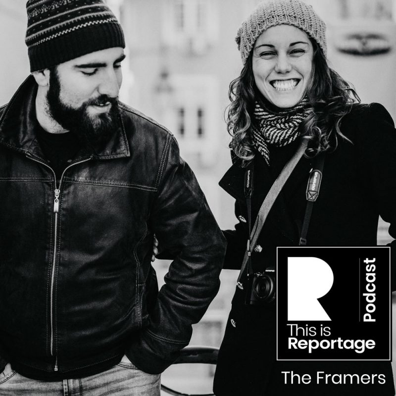 this is reportage podcast - this is the framers