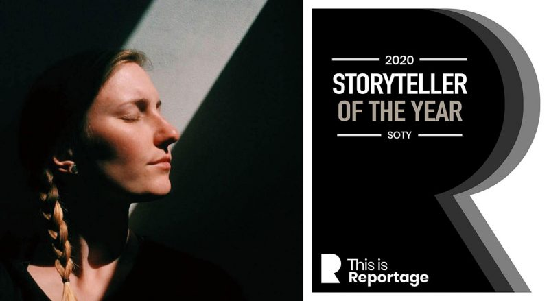 This is reportage storyteller of the year 2020 sanne de block