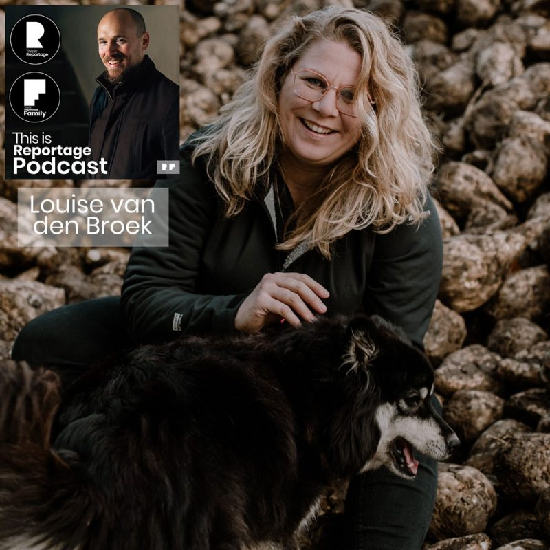 this is reportage podcast - this is louise van den broek