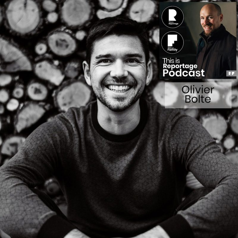 This is reportage podcast - this is olivier bolte