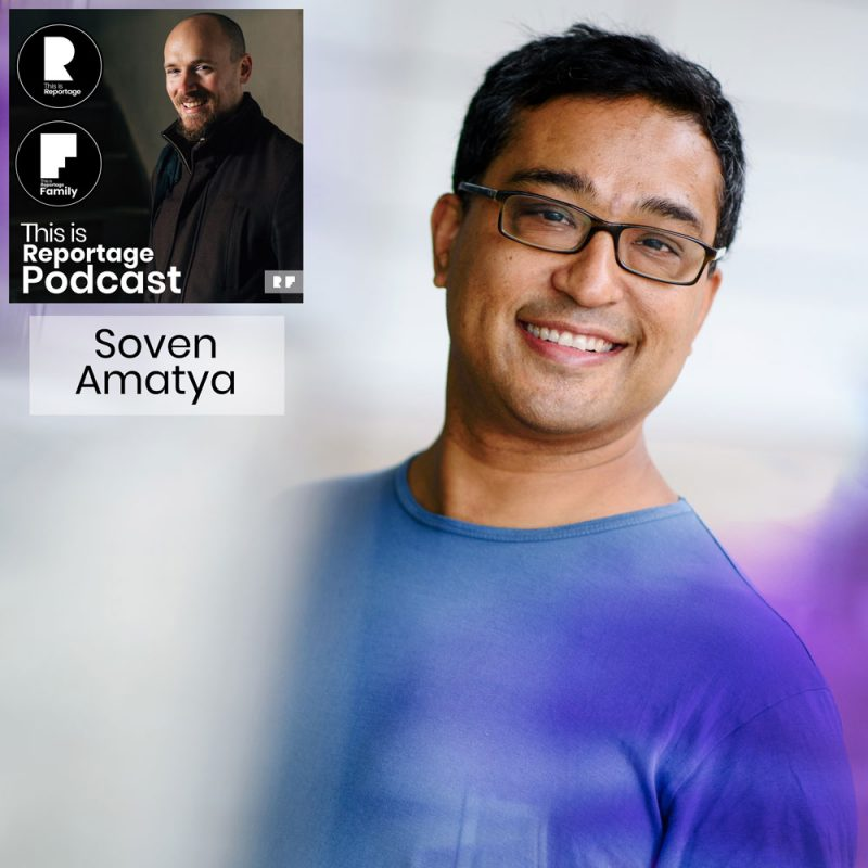 this is reportage podcast - this is soven amatya