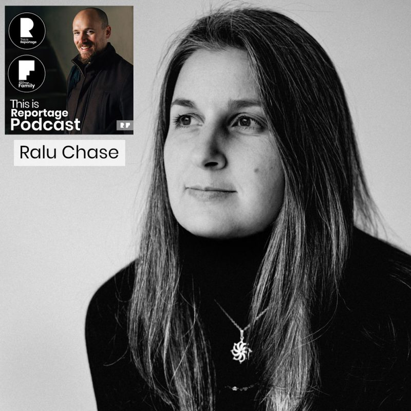 this is reportage podcast - this is ralu chase