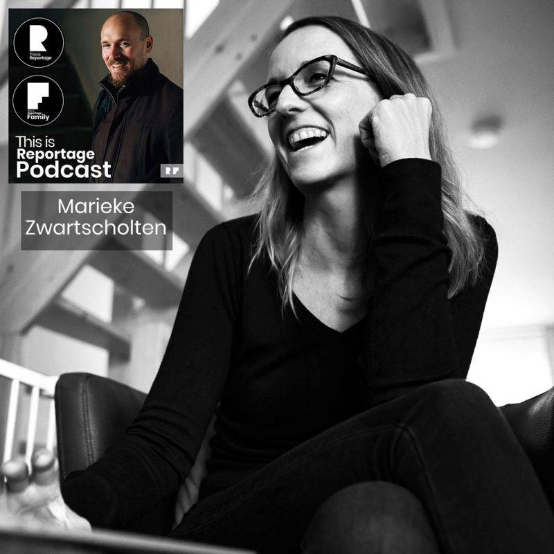 this is reportage podcast - this is Marieke Zwartscholten