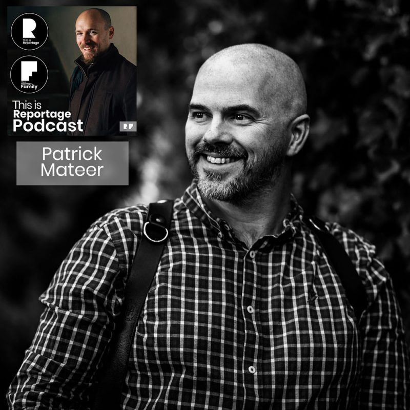 this is reportage podcast - this is patrick mateer