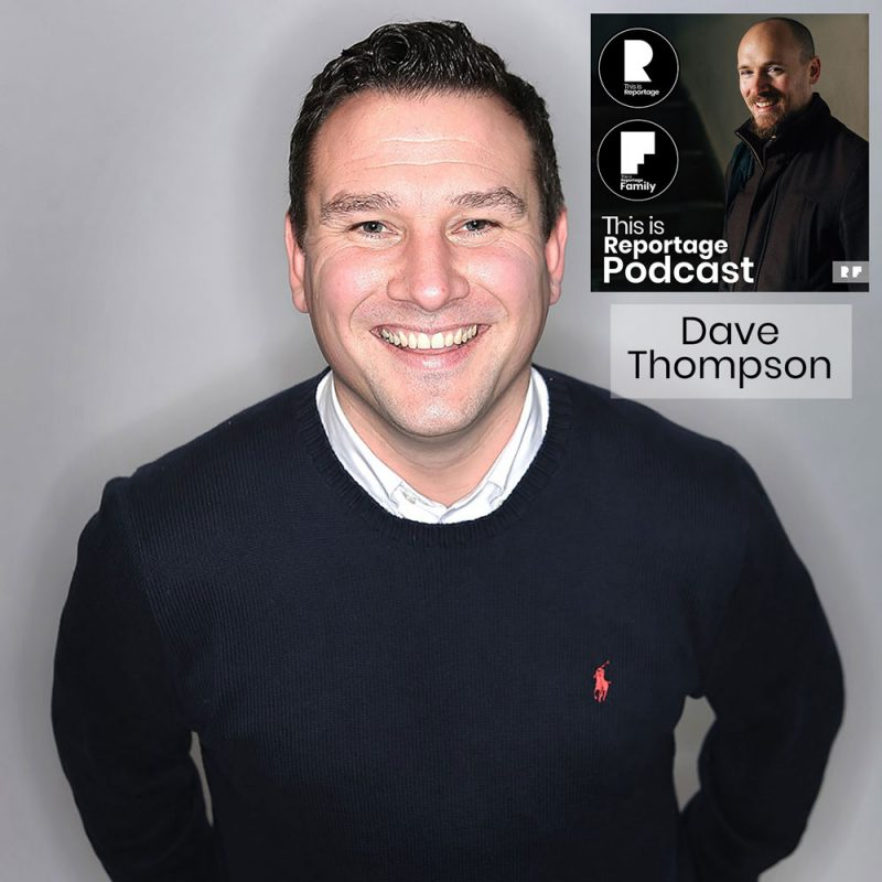 this is reportage podcast - this is dave thompson